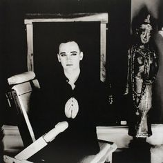 boy george by anton corbijn. i had such a crush on him as a child.