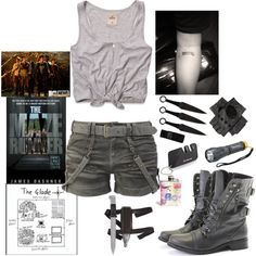 Ideas Camping Outfits For Teens Halloween Costumes Maze Runner, Teen Fashion Outfits, Outfits For Teens, Runners Outfit, Fandom Fashion, Nerd Fashion, Diy Fashion, Fashion Ideas, Diy Mode