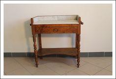 Antica Toilette! Toletta tavolino Pettinouse! Noce xix sec. Restaurata tavolinetto scrittoio