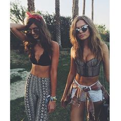 Wishing we were at #coachella  @taylor_hill @josephineskriver #victoriassecret Reposted Via @snobfashionblog