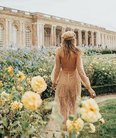Gardens of Versailles in Paris