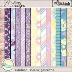 Summer Breeze: Patterns by LDrag Designs