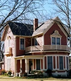 Georgetown, Texas. I wouldn't mind living in an old historic home in a small town.