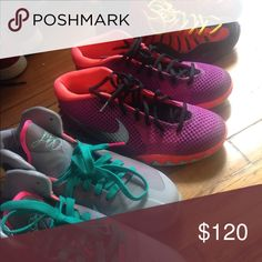 c3881632f7a44 Nike 6.0 kids sneakers Only Worn once . Colors are sick. Get it now ...