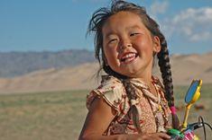 Mongolian Girl 2 by Marco Bodemeijer