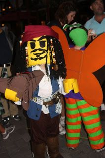 Crafty Lady/Working Mom: 'Duct tape: man's best friend' or 'How to make a Lego Jack Sparrow costume'