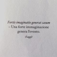 Ricordatevelo SEMPRE! Allenate la vostra immaginazione.