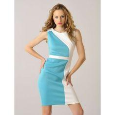 Vestido por la Rodilla Blanco y Verde MS868 Skirts, How To Make, Dresses, Fashion, Types Of Dresses, Short Dresses, White People, Green, Hot Clothes