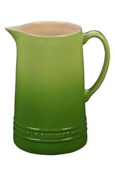 Le Creuset Glazed Stoneware 1 2/3 Quart Pitcher