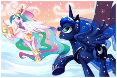 Snowball Fight Without Magic by Centchi.deviantart.com on @deviantART