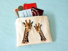 Giraffe coin purse  giraffe gift  animal zip purse  cute Coin Purses, Giraffe, Coins, Zip, Trending Outfits, Unique Jewelry, Handmade Gifts, Cute, Bags