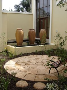 urns + pretty paving