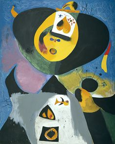 Mir on pinterest for Joan miro interieur hollandais