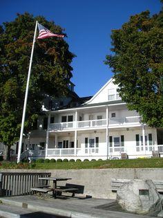 Epworth Hotel Ludington MI From The Vespers Area On Lake Michigan Where My Wedding VenuesLake
