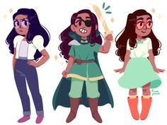 fuwapeach: i really love connie and all of her outfits are A Tags: #reblogged other_peoples_art steven universe