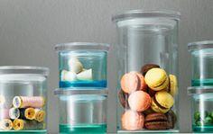 Iittala glass jars, beautiful display of food! #pintofinn