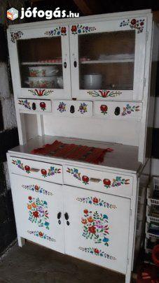 Retro konyhaszekrény Antique Hoosier Cabinet, Kitchen Box, China Cabinet, Cupboard, Storage, House, Furniture, Google Search, Home Decor