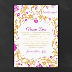 Light and Lively - Invitation    | 40% OFF  |  http://mediaplus.carlsoncraft.com/Parties--Celebrations/Bar--Bat-Mitzvah-Invitations/3125-BA33679-Light-and-Lively--Invitation.pro