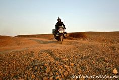 Our Mosko Moto Gear Reveiw - http://mytickettoridetoday.blogspot.com/2015/08/our-mosko-moto-gear-reveiw.html -     We  followed the dirt tracks out of town and before long we were riding on  salt planes again. Salt Planes, as far as the eye could see. The heat  made the horizon glisten. It was such a remote and harsh area but at the  same time so incredibly beautiful.      And  only because of our setup were we able to fully appreciate it: In these  remote, hot area