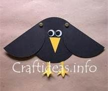 crow craft - Add peacock feathers to go with Aesop fable: you are beautiful as you are