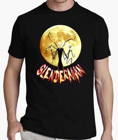Camiseta slenderman