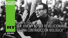 El discurso de Salvador Allende que señaló a la juventud el camino de la revolución http://es.rt.com/3mmy @hapinto2