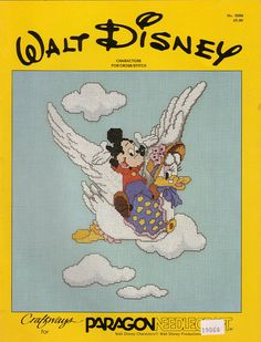 Gallery.ru / Фото #1 - Walt Disney Characters for cross stitch - logopedd
