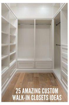 Master Closet Design, Walk In Closet Design, Master Bedroom Closet, Closet Designs, Bedroom Closets, Closet Renovation, Closet Remodel, Wardrobe Room, Wardrobe Storage