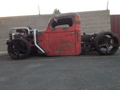 Rat Rod Hot Rod 1940 Ford Muscle Car Custom Cummins Chopper Chopped Race Chevy, image 1
