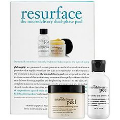 $69 Philosophy - Resurface - The Microdelivery Dual-Phase Peel. 1,545 reviews out of 4.7 out of 5 average ratings. #sephora