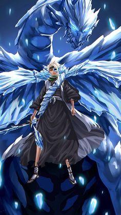 Toshiro Hitsugaya by ZhangDing on deviantART Bleach Manga, Shinigami, Kenpachi Zaraki, Kuchiki Rukia, Otaku Anime, Anime Guys, Anime Art, Bleach Characters, Anime Characters