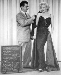 Travilla with Marilyn