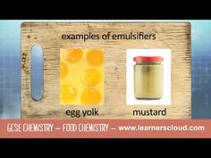 GCSE Chemistry module: Food Chemistry    By the end of this topic you will have covered:  - Saturated and unsaturated oils  - Emulsions    GCSE revision videos and apps from LearnersCloud:  http://www.learnerscloud.com/student/products/gcse-chemistry    To find out more and to start a free trial visit:  http://www.learnerscloud.com/student/home/gcse/gcse-revision