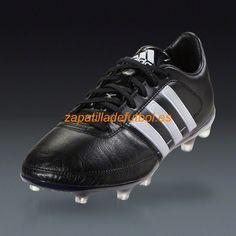 promo code 81e07 0604f El mas barato Zapatos de Futbol Adidas Gloro 16.1 FG Para Terreno Firme  Plata Negro Mate Blanca