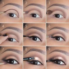 6 tutos make up inédits pour mettre vos yeux en valeur : Soft, rose gold, smokey eye tutorial. Good for hooded eyelids or monolids on Asian eyes. Products and instructions in the link. Contour Makeup, Eye Makeup Tips, Skin Makeup, Makeup Products, Makeup Ideas, Makeup Brushes, Eyeliner Ideas, Makeup Remover, Eyeshadow Makeup