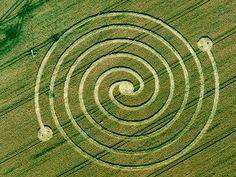 Resultado de imagen de spiral crop circle