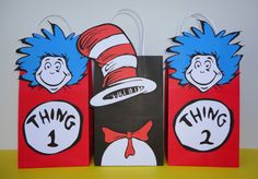 Visit my Etsy Shop and contact me if you're interested in buying this Digital Cat in the Hat Favor bags item and I can make a Custom Order for you for only $5... and Printing is unlimited!!  This listing is no longer available @ my shop, but I can still sell it to you via a Private Custom Order Request. Feel free to message me. Etsy Shop: CreativePartyStudio