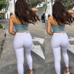 Skinny Jeans For Teens . Skinny Jeans For Teens Cheap Skinny Jeans, Green Skinny Jeans, White Jeans, Sexy Jeans, Curvy Outfits, Hot Outfits, Look Body, Gorgeous Teen, Bodysuit Fashion