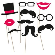 #photobooth #hochzeit #wedding #inspiration #moustache #kiss #glasses #love #fun