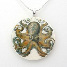 Octopus Pendant I, 18€, now featured on Fab.