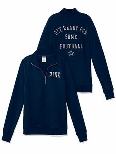 Dallas Cowboys Half-Zip Pullover