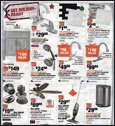Home Depot Black Friday 2019 Ads and Deals Browse the Home Depot Black Friday 2019 ad scan and the complete product by product sales listing. Home Depot Coupons, Black Friday 2019, Ceramic Mosaic Tile, Detail Shop, Printable Coupons, Coding, Check, Programming