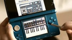 Musicverse: Electronic Keyboard for Nintendo 3DS (US Market Trailer) - Share your musical genius using Musicverse: Electronic Keyboard!  Record the melody stuck in your head wherever you are and show it to the world, no limits with Miiverse™, Facebook and Twitter!