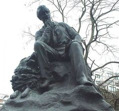 Statue of Lord Byron in Hyde Park, London Source: by Lonpicman via Wiki Commons  --  George Gordon Byron was an English Romantic poet known for his narrative poems Don Juan and Childe Harold's Pilgrimage