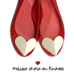 Amamos Melissa shoes!!! #flats #love #red #everydaywearstyle