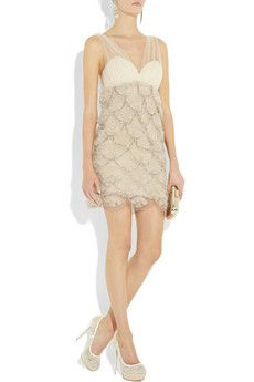 i'm kind of in LOVE of this brand Alice+Olivia ..many cute dresses! this one is a tiered silk-tulle dress and $600