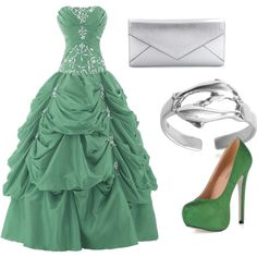 Slytherin2 by photographsdaughter on Polyvore featuring polyvore, fashion, style, Smythson and Tressa
