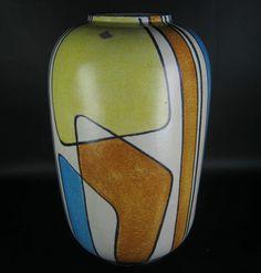 Bay Keramik Vase Bodo Mans Design 50er 60er Jahre Vintage German Pottery BIG | eBay