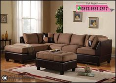 online shopping for Modern Reversible Microfiber / Faux Leather Sectional Sofa Set w/ Ottoman (Hazelnut) from top store. See new offer for Modern Reversible Microfiber / Faux Leather Sectional Sofa Set w/ Ottoman (Hazelnut) Leather Couch Sectional, 3 Piece Sectional Sofa, 3 Piece Sofa, Sofa Set, Couch Ottoman, Chaise Couch, Leather Cushions, Large Sectional, Leather Sofas
