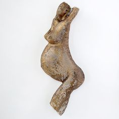 <3 Gorgeous <3    Nude pregnant woman, Metal wall art  wire mesh by nuntchi on Etsy, $110.00
